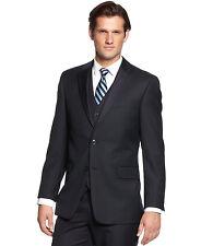 Tommy 2017 Men's Navy Tonal Stripe Classic-Fit Suit Jacket 40R~ New $425.00 ~