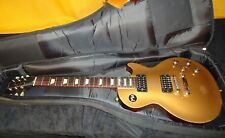 2013 Gibson Les Paul Studio 70's Tribute Gold Top Dirty fingers pickups USA