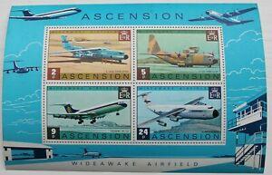 Ascension Is – Wideawake Airfield – Minisheet – UM (MNH) (R5)