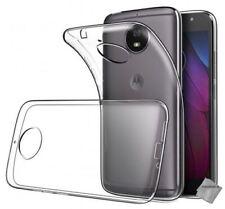 Pour Motorola G5S Moto G5S Coque Gel En Silicone Tpu Lisse Transparent