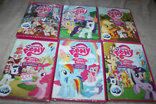 **    LOT 6 DVD DESSIN ANIME *  MY LITTLE PONY les amis c'est magiques *  neuf