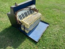 More details for vintage pancotti italian piano accordion c.1930's