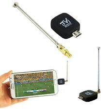 1 pc Mini Micro USB DVB-T Digital Mobile TV Tuner Receiver for Android 4.1-4.9 Q