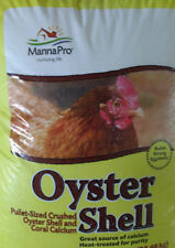 Manna Pro Crushed Oyster Shell - Calcium - Chicken, Turkey, poultry egg strength
