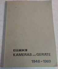 Klimsch Kameras und Gerate 1948-1969