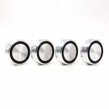 8pcs 39 *17mm with silver line audio speaker feet spikes machine mats pads