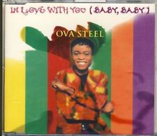 OVA STEEL - in love with you  3 trk MAXI CD 1994