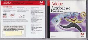 Adobe Acrobat 6.0 Professional (2003, for Windows, Education Version)