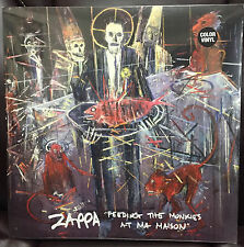 """Frank Zappa - """"Feeding the Monkies At Ma Maison"""" SEALED. Color vinyl release"""