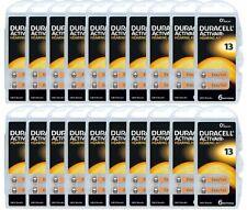 120 x Duracell ActivAir Hörgerätebatterien Typ 13 PR48 EasyTab PR13 20 Blister
