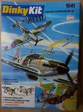Dinky Airplane Kit Hawker Hurricane MK II.c #1041 Boxed, RARE - Very Near Mint
