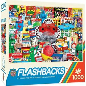 NEW - Master Pieces: Flashbacks Let the Good Times Roll 1000 Piece Jigsaw Puzzle