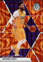 2019-20 Panini Mosaic NBA Basketball Retroactive Orange Singles -Pick Your Cards