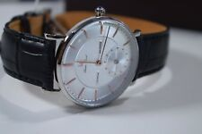 Lucien Piccard Taverna 40003-02S-RGA Genuine Leather Watch