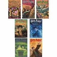 J.k. Rowling Harry Potter Set (Books 1-7)-no Box- May Be Paperback or Hardcover.