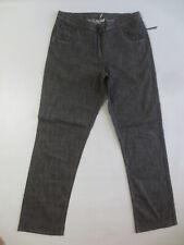 Stretch Hose NO SECRET Freizeithose  44 grau schwarz NEU mit Mini-Fehler /J120