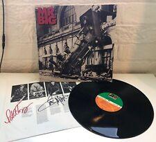 Mr Big - Lean Into It (1991) Original Vinyl Record SIGNED copy Rare