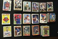 Lot of 842, MLB Baseball Cards 1880 - 2010, Topps, Donruss, Upper Deck, Fleer,