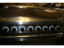 More details for charcoal grill  8 burners for piri piri chicken, nubs are individualy operatable
