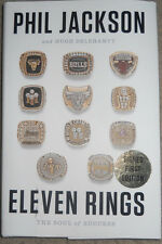 PHIL JACKSON signed first edition autographed book lakers/bulls/nba eleven rings