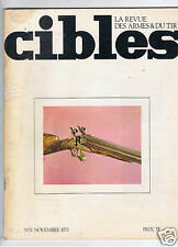 CIBLES N°51  ARMES TIR CHASSE / HUNTING ARMS