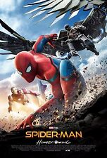 Spider-Man: Homecoming Movie Poster (24x36) - Tom Holland, Iron Man, Vulture v4