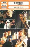 FICHE CINEMA FILM USA THE FACULTY Réalisateur Robert Rodriguez