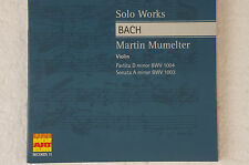 Bach Solo Works Martin Murmelter Violin BWV 1004 1003 (Box8)