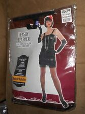 Flashy Flapper 2 pc. Costume - Adult Size X-Large - NEW