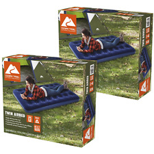 2-PACK-Camping Mattress Inflatable Airbed Sleeping Twin Size- Fast/Free Shipping