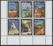 ARUBA 2015 Toerisme Tourisme schip tram vuurtoren cactus 848-853 postfris /mnh