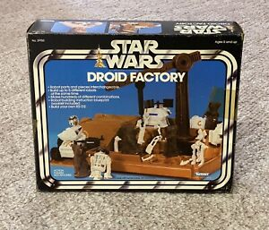 Vintage Star Wars DROID FACTORY ORIGINAL BOX ONLY Kenner 1979 VERY NICE!