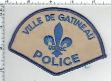 Ville De Gatineau Police (Canada) Shoulder Patch from the Early 1980's