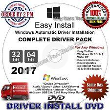 2017 Windows Drivers Restore Recovery DVD Disc for Windows 10, 8.1, 7, Vista, XP
