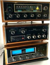 McIntosh Vintage Curated Stereo System - MC-2125 Amp, C27 Pre, and MR78 Tuner