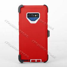 Samsung Galaxy Note 9 Defender Shockproof Hard Shell Case w/Holster Belt Clip