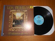 LP- LOS DIABLOS / 40 MINUTOS DE ORO