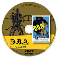 D.O.A. (1949) - Edmond O'Brien, Pamela Britton - Drama, Film-Noir, Mystery DVD