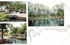 San Antonio,Texas,San Pedro Park,3 Views,c.1901-06