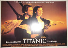 "Titanic (1997) (On Deck) reproduction movie poster (23.5""x33"") S/S"