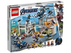 LEGO® Marvel 76131 Avengers Compound Battle *BRAND NEW SEALED IN BOX*
