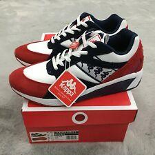 New Kappa 222 Banda Garko Lifestyle Shoes Mens Size 9.5 Red / White
