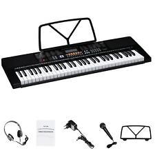 Digitalpiano Elektrisches Keyboard 61 Tasten Einsteiger 300 Klangfarben Rhythmen