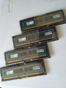 Kingston DDR3 32GB 4x8GB ECC UDIMM Unbuffered Server RAM kvr16e11k4/32