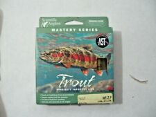 Wf-7-F Scientific Anglers Mastery Trout Spec Taper Floating Fly Line Ast Willow