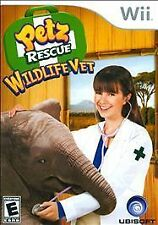Petz Rescue: Wildlife Vet (Nintendo Wii, 2008)DISC ONLY