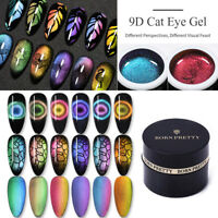 BORN PRETTY 5ml Bunter 9D Cat Eye Magnetischer Gel Nagellack Soak Off Gel Lack