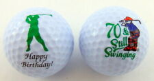 70th Birthday Golf Balls Gift Pack for for Golfers