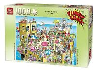 1000 Piece Funny Comic Cartoon Party Jigsaw Puzzle - Salt Rock Cafe Mayhem 5226