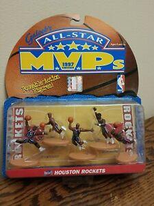 Galoob's All Star MVPs Houston Rockets including Hakeem Olajuwon 1997